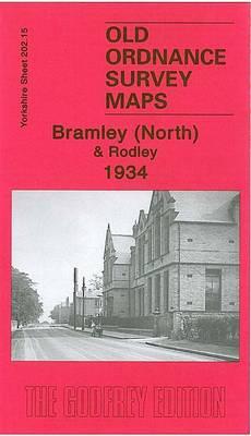 Bramley (North) & Rodley 1934: Yorkshire Sheet 202.15b - Old Ordnance Survey Maps of Yorkshire (Sheet map, folded)