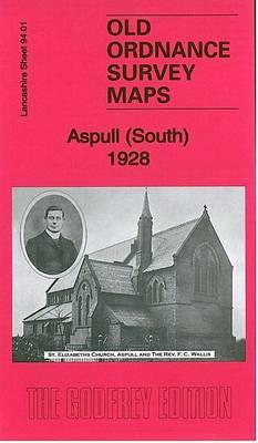 Aspull (South) 1928: Lancashire Sheet 94.01 - Old Ordnance Survey Maps of Lancashire (Sheet map, folded)