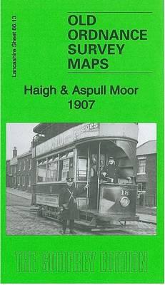 Haigh & Aspull Moor 1907: Lancashire Sheet 86.13 - Old Ordnance Survey Maps of Lancashire (Sheet map, folded)