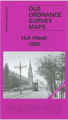 Hull (West) 1890: Yorkshire Sheet 240.02 - Old Ordnance Survey Maps of Yorkshire (Sheet map, folded)