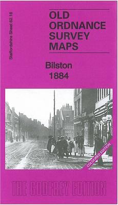 Bilston 1884: Staffordshire Sheet 62.16 - Old Ordnance Survey Maps of Staffordshire (Sheet map, folded)