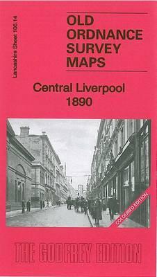 Central Liverpool 1890: La106.14a - Old Ordnance Survey Maps of Lancashire (Sheet map, folded)