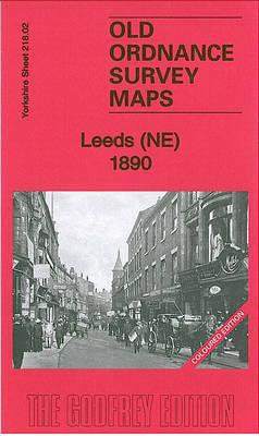 Leeds (NE) 1890: Yorkshire Sheet 218.02 - Old Ordnance Survey Maps of Yorkshire (Sheet map, folded)
