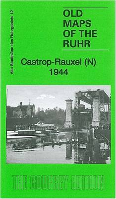 Castrop-Rauxel (N) 1944: Ruhr Sheet 12 - Old Maps of the Ruhr (Sheet map, folded)