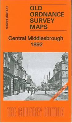 Central Middlesbrough 1892: Yorkshire Sheet 6.14a - Old Ordnance Survey Maps of Yorkshire (Sheet map, folded)
