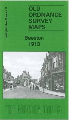 Beeston 1913: Nottinghamshire Sheet 41.12 - Old Ordnance Survey Maps of Nottinghamshire (Sheet map, folded)