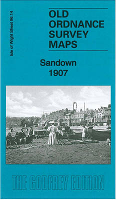 Sandown 1907: Isle of Wight Sheet 96.14 - Old Ordnance Survey Maps of The Isle of Wight (Sheet map, folded)