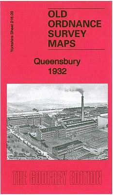 Queensbury 1932: Yorkshire Sheet 216.09 - Old Ordnance Survey Maps of Yorkshire (Sheet map, folded)
