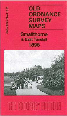 Smallthorne & East Tunstall 1898: Staffordshire Sheet 12.05a - Old Ordnance Survey Maps of Staffordshire (Sheet map, folded)