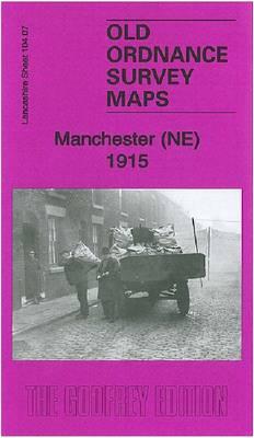 Manchester (NE) 1915: Lancashire Sheet 104.07b - Old Ordnance Survey Maps of Lancashire (Sheet map, folded)