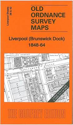 Liverpool (Brunswick Dock) 1848-64: Liverpool Large Scale Sheet 38/42 - Old Ordnance Survey Maps of Liverpool (Sheet map, folded)