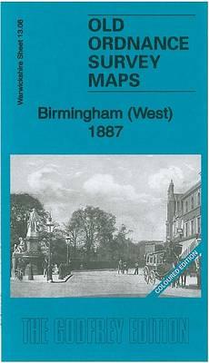 Birmingham (West) 1887: Warwickshire Sheet 13.08a - Old Ordnance Survey Maps of Warwickshire (Sheet map, folded)