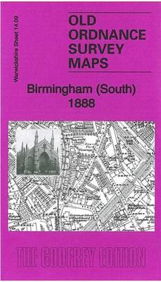 Birmingham (South) 1888: Warwickshire Sheet 14.09a - Old Ordnance Survey Maps of Warwickshire (Sheet map, folded)