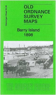 Barry Island 1898: Glamorgan Sheet 50.08 - Old Ordnance Survey Maps of Glamorgan (Sheet map, folded)