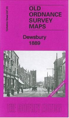 Dewsbury 1889: Yorkshire Sheet 247.03a - Old Ordnance Survey Maps of Yorkshire (Sheet map, folded)