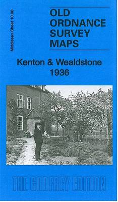 Kenton & Wealdstone 1936: Middlesex Sheet 10.08 - Old Ordnance Survey Maps of Middlesex (Sheet map, folded)
