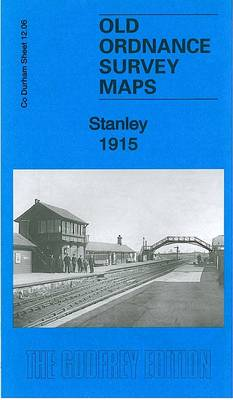 Stanley 1915: County Durham Sheet 12.06b - Old Ordnance Survey Maps of County Durham (Sheet map, folded)
