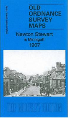 Newton Stewart & Minnigaff 1907: Wigtownshire 15.02 - Old Ordnance Survey Maps of Wigtownshire (Sheet map, folded)