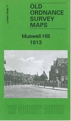 Muswell Hill 1913: London Sheet 11.3 - Old Ordnance Survey Maps (Sheet map, folded)