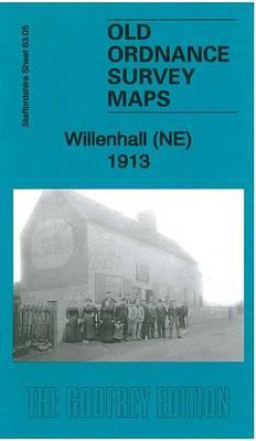 Willenhall (NE) 1913: Staffordshire Sheet 63.05b - Old Ordnance Survey Maps of Staffordshire (Sheet map, folded)