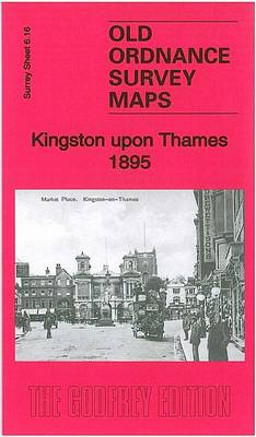 Kingston Upon Thames 1895: Surrey Sheet 6.16 - Old Ordnance Survey Maps of Surrey (Sheet map, folded)