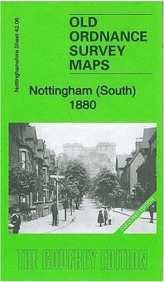 Nottingham (South) 1880: Nottinghamshire Sheet 42.06a - Old Ordnance Survey Maps of Nottinghamshire (Sheet map, folded)