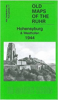 Hohensyburg & Westhofen 1944: Ruhr Sheet 17 - Old Maps of the Ruhr (Sheet map, folded)