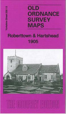 Roberttown & Hartshead 1905: Yorkshire Sheet 232.13 - Old Ordnance Survey Maps of Yorkshire (Sheet map, folded)
