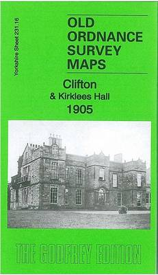 Clifton & Kirklees Hall 1905: Yorkshire Sheet 231.16 - Old Ordnance Survey Maps of Yorkshire (Sheet map, folded)