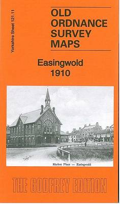 Easingwold 1910: Yorkshire Sheet 121.11 - Old Ordnance Survey Maps of Yorkshire (Sheet map, folded)