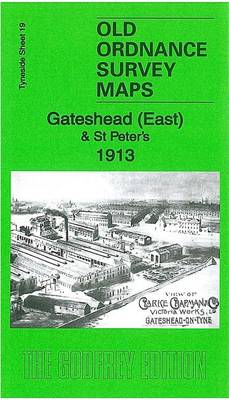 Gateshead East & St Peters 1913: Tyneside Sheet 19a - Old Ordnance Survey Maps of Tyneside (Sheet map, folded)