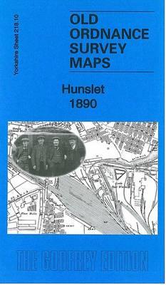 Hunslet 1890: Yorkshire Sheet 218.10 - Old Ordnance Survey Maps of Yorkshire (Sheet map, folded)