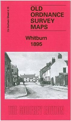 Whitburn 1895: County Durham Sheet 4.15 - Old Ordnance Survey Maps of County Durham (Sheet map, folded)