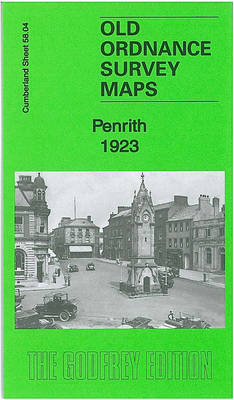 Penrith 1923: Cumberland Sheet 58.04 - Old Ordnance Survey Maps of Cumberland (Sheet map, folded)