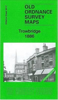 Trowbridge 1886: Wiltshire Sheet 38.07 - Old Ordnance Survey Maps of Trowbridge (Sheet map, folded)