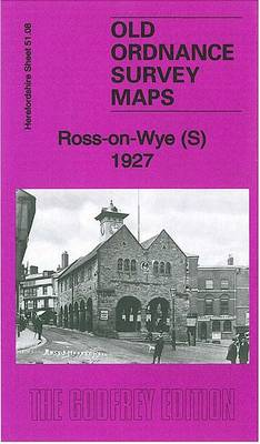 Ross-on-Wye (South) 1927: Herefordshire Sheet 51.08 - Old Ordnance Survey Maps of Herefordshire (Sheet map, folded)