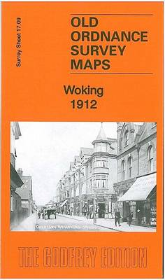 Woking 1912: Surrey Sheet 17.09 - Old Ordnance Survey Maps of Surrey (Sheet map, folded)