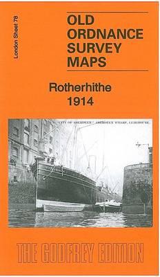 Rotherhithe 1914: London Sheet 78.3 - Old Ordnance Survey Maps of London (Sheet map, folded)