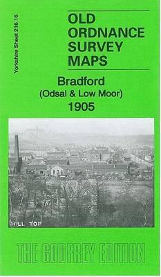 Bradford (Odsal & Low Moor) 1905: Yorkshire Sheet 216.16 - Old Ordnance Survey Maps of Yorkshire (Sheet map, folded)