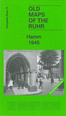 Hamm 1945: Ruhr Sheet 19 - Old Maps of the Ruhr (Sheet map, folded)