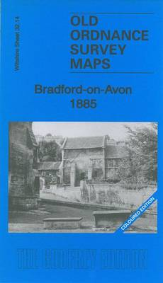 Bradford-On-Avon 1885: Wiltshire Sheet 32.14a - Old Ordnance Survey Maps of Wiltshire (Sheet map, folded)