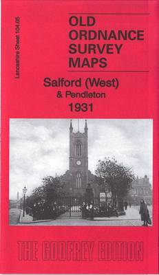 Salford (West) & Pendleton 1931: Lancashire Sheet 104.05C - Old Ordnance Survey Maps of Lancashire (Sheet map, folded)