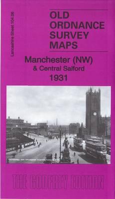 Manchester (NW) & Central Salford 1931: Lancashire Sheet 104.06C - Old Ordnance Survey Maps of Lancashire (Sheet map, folded)