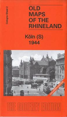 Koln (S) 1944: Cologne Sheet 2 - Old Maps of Cologne (Sheet map, folded)
