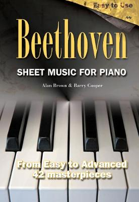 Beethoven: Sheet Music for Piano - Sheet Music S. (Spiral bound)