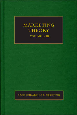 Marketing Theory - SAGE Library in Marketing (Hardback)
