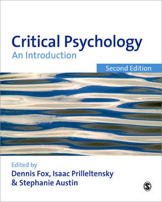 Critical Psychology: An Introduction (Paperback)