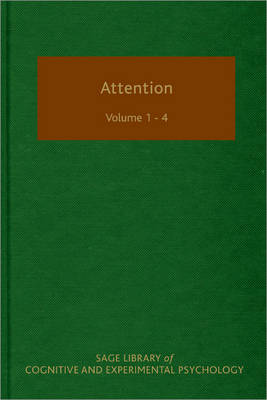 Attention - SAGE Library of Cognitive and Experimental Psychology (Hardback)