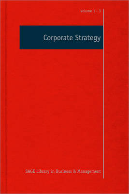 Corporate Strategy - Sage Library in Business and Management (Hardback)