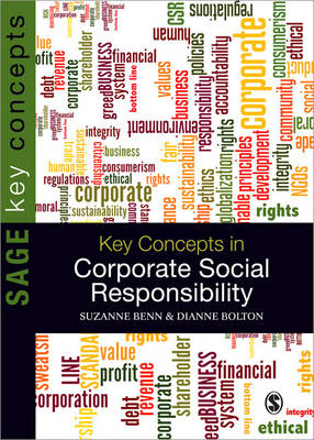 Key Concepts in Corporate Social Responsibility - Sage Key Concepts Series (Paperback)